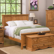 american-heritage-panel-bed-oak