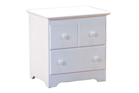 windsor nightstand white